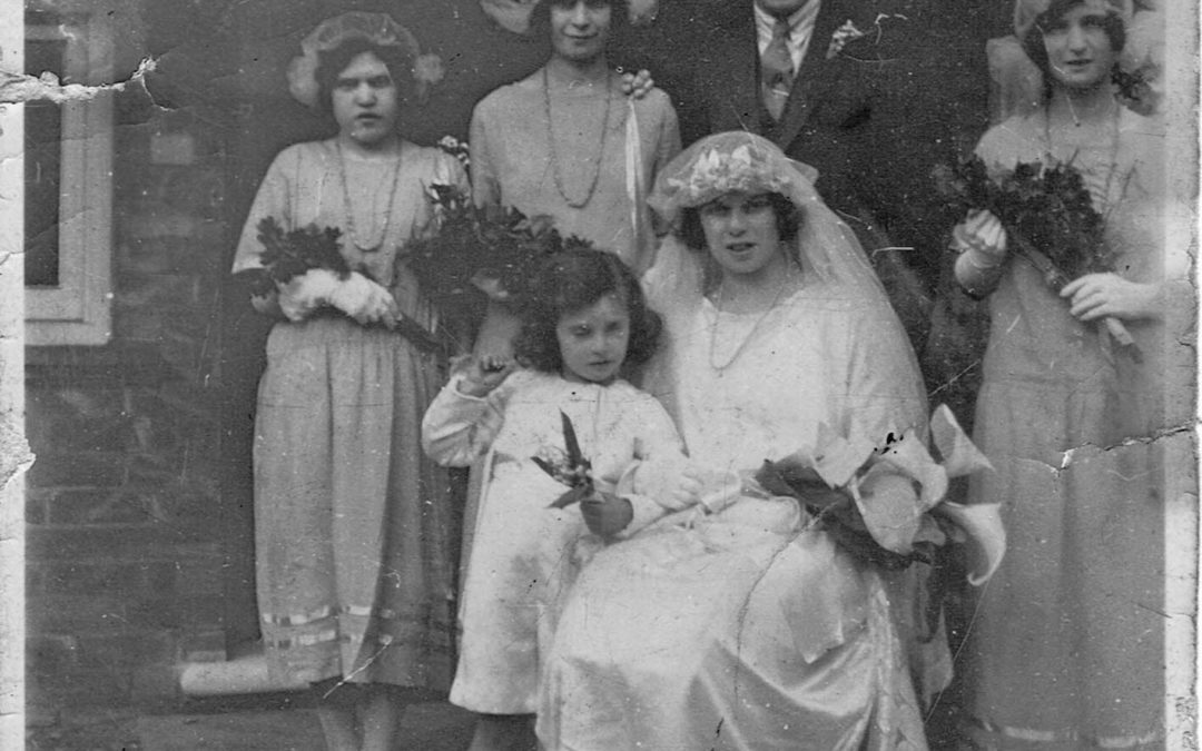 Daphne Irene Digweed Married Wilfred Hampshire, Escrick Hut .1925