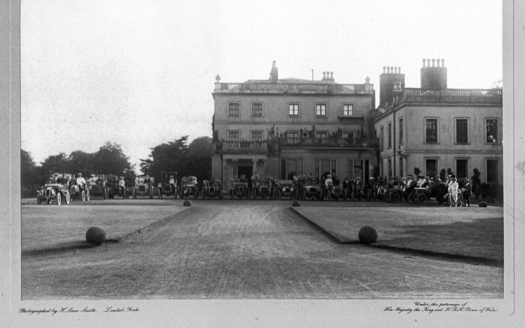 NYAC Car Rally Escrick Hall, 1906