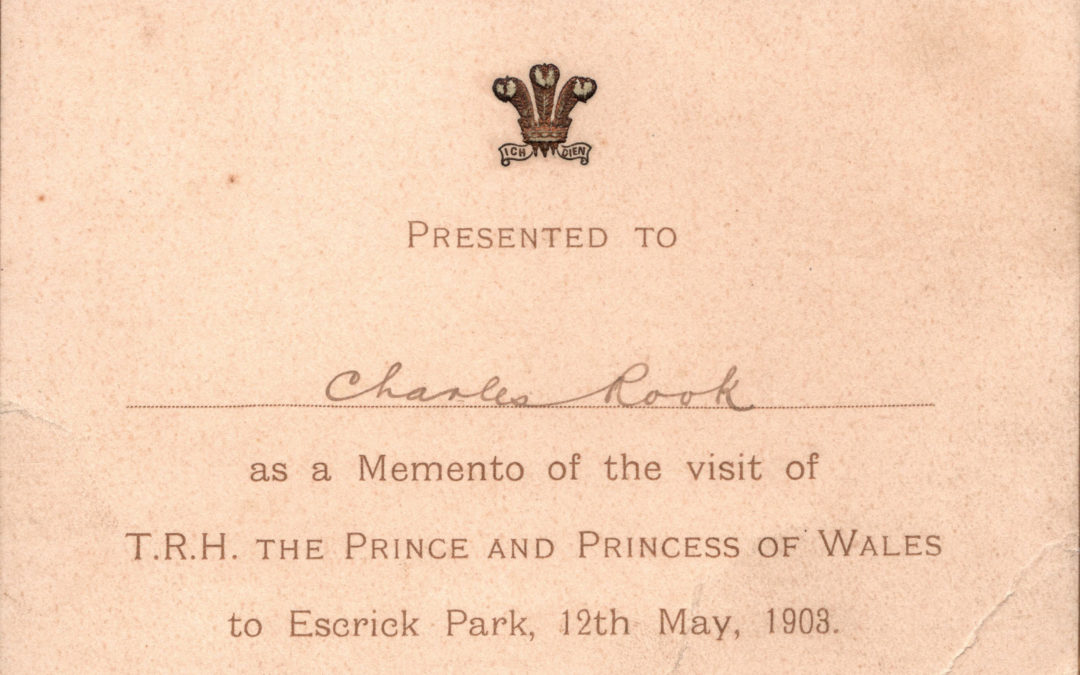 T.R.H. Prince and Princess of Wales visit to Escrick Park