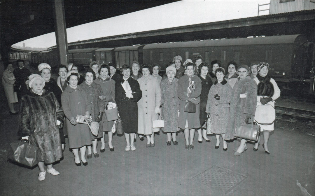 WI Trip to the Ideal Home Exhibition London – 16 May 1962