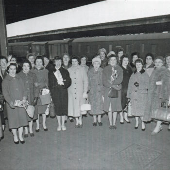 WI Trip May 16th 1962 to the ideal home exhibition London
