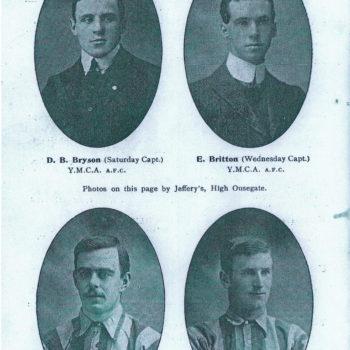 Football Captains 1908/09
