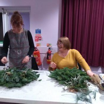 Wreath Making Workshop 2nd December.