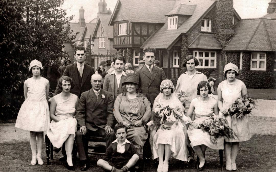 Glenda Digweed and George Ellis – Marriage of Sept 1929