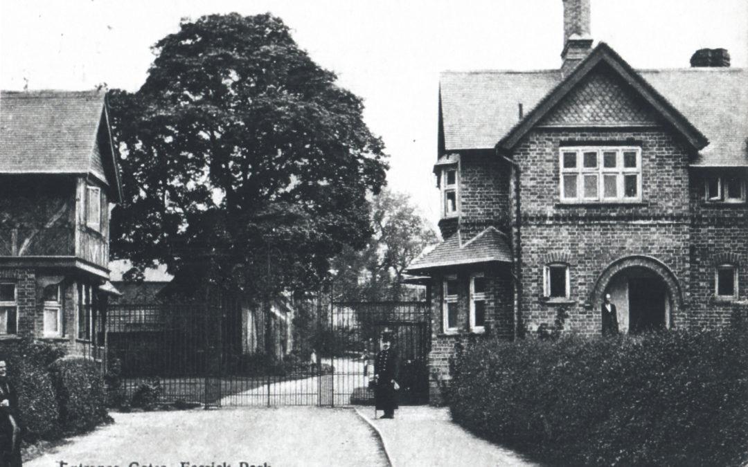 Entrance Gates to Escrick Park – Now an entrance to Queen Margaret's School