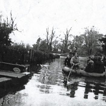 Escrick in Flood