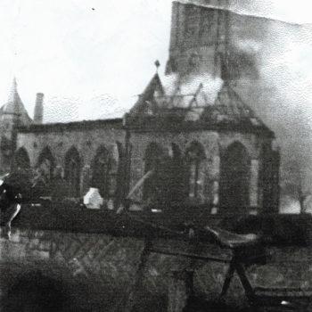 Escrick Church Fire