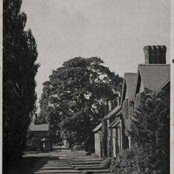 Estate houses inside Park gates