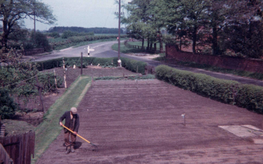 Estate House garden – A19/Skipwith Road junction how it used to look