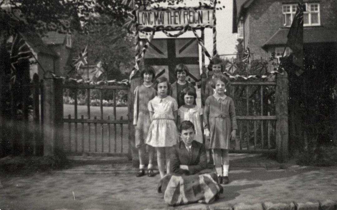 Postcard of Children celebrating the Coronation of King George VI – 1937