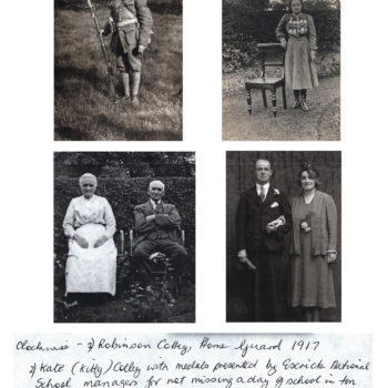 Colley Family - 1917 to 1940