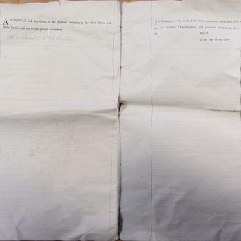 Escrick Church Terrier & Inventory