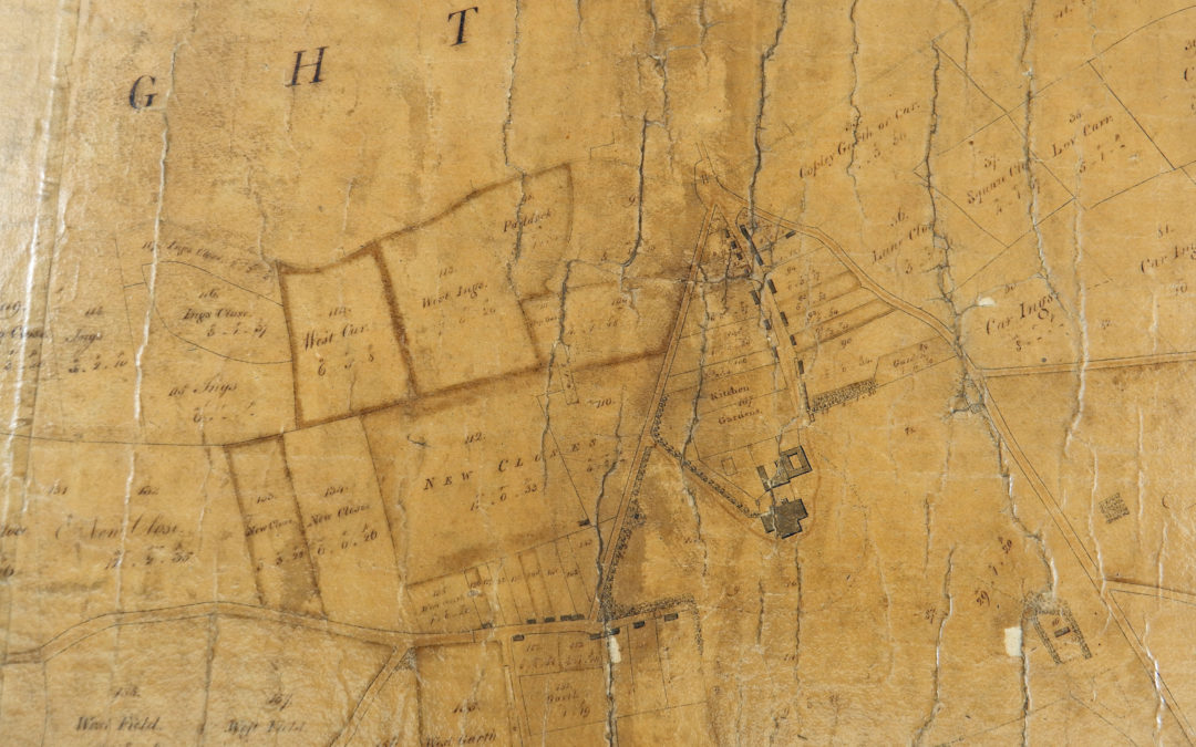 Map of Deighton 1754 – Copied by Francis White of York in 1809