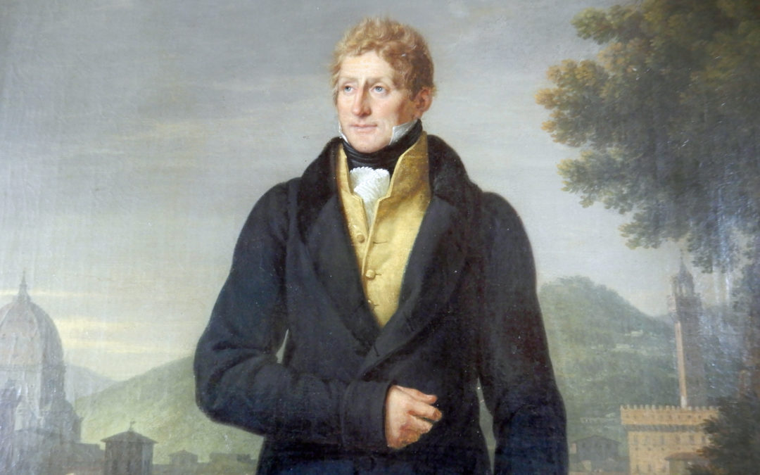 Paul Beilby Lawley Thompson – 1st Lord Wenlock. Born 1 July 1784, Inherited Escrick Estate 1820, died 9 May 1852