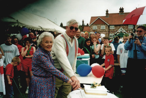 Royal Golden Jubilee celebrations at Escrick, 2002