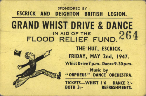 Grand Whist Drive & Dance Friday 2 May 1947