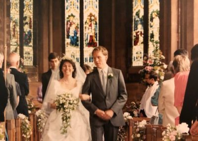 Marriage of Richard and Gillian Crockford 1986