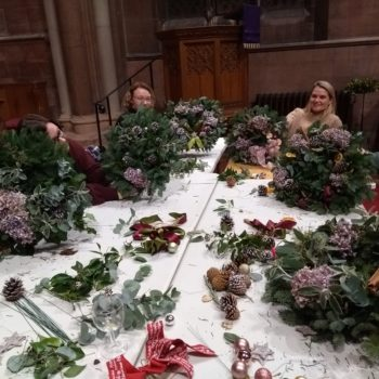 Wreath Making Workshop. 29th November  7.30pm