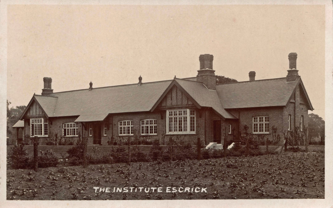 Postcard of The Institute