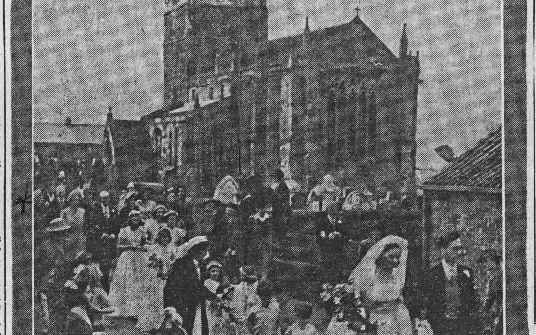 Wedding of Virginia Forbes Adam
