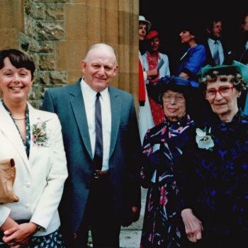Joan & Gordon Sarginson - Family Wedding 1987