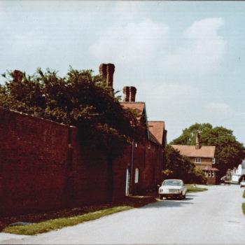 Escrick Main Street in the 1980's