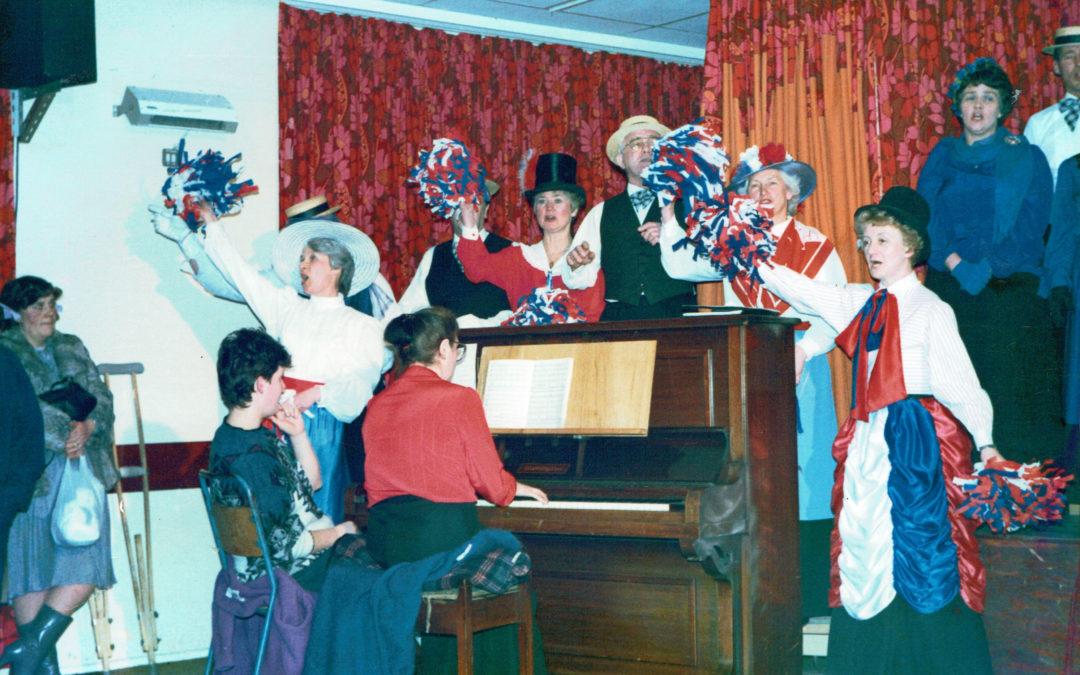 Music Hall 1987 – Tuesday Singers Rehearsals