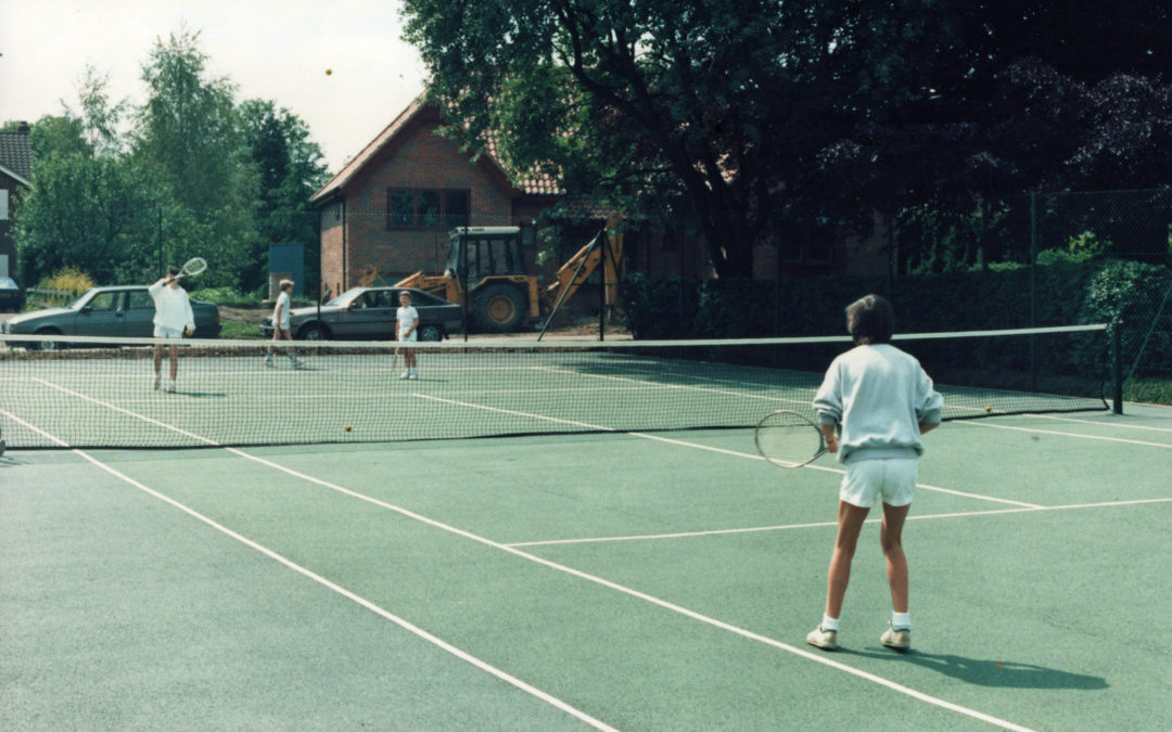 Tennis Courts Opening 1987