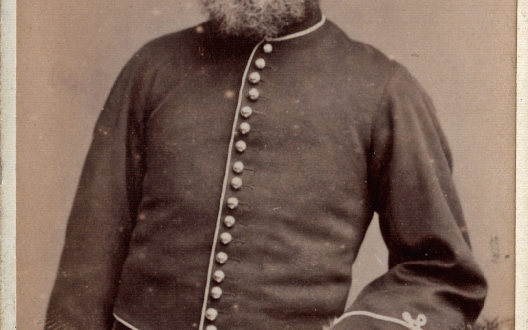 William Ward in Uniform – East Yorkshire Imperial Yeomanry