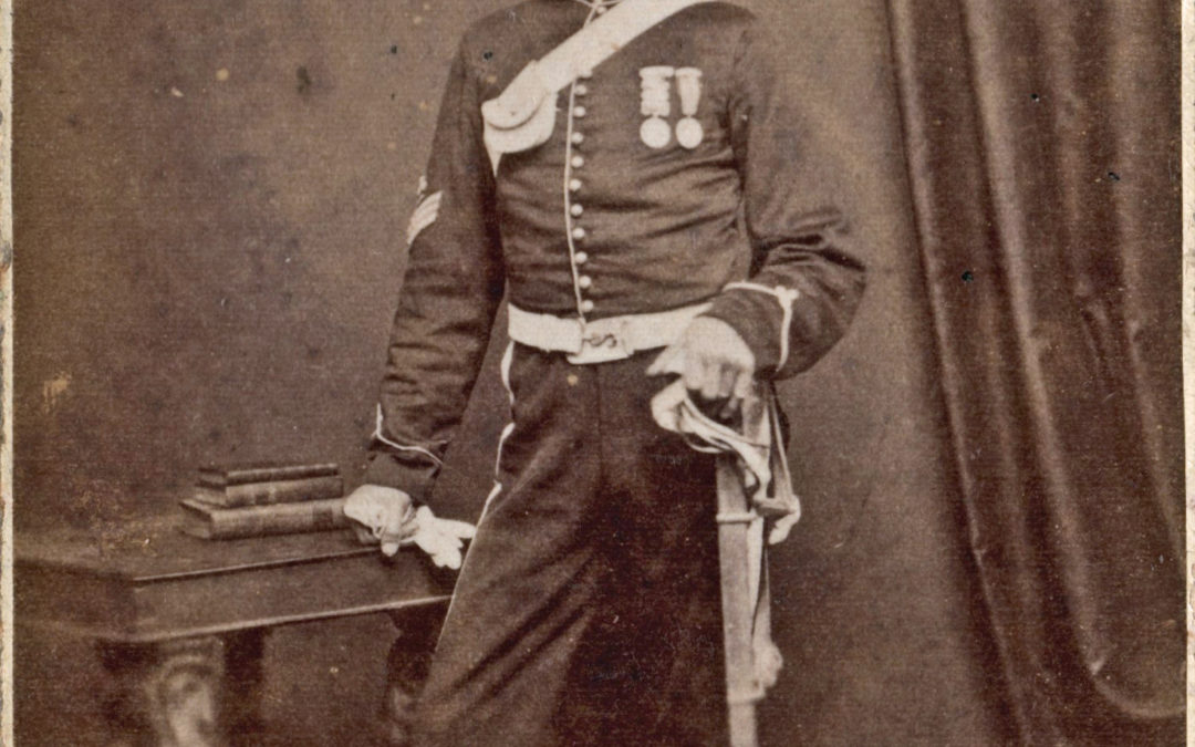 William Ward in Uniform and Medals – East Yorkshire Imperial Yeomanry