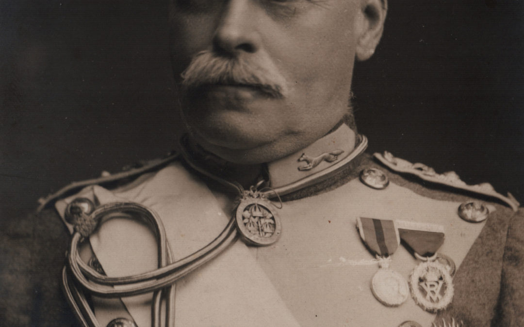 Bielby Lawley – 3rd Lord Wenlock.  Colonel in Chief East Riding of Yorkshire Imperial Yeomanry