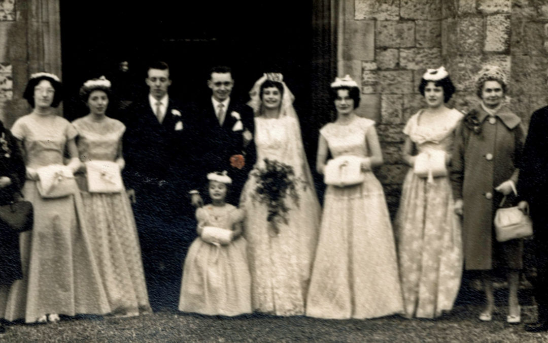 Georgina & John's Wedding – Escrick Church 1960