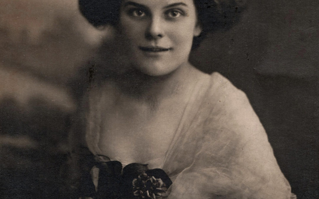 Violet Poole 1915 – Mary Richardson's daughter
