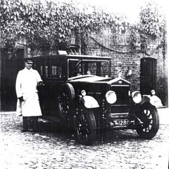 Frank Digweed - Chauffeur at Escrick Hall