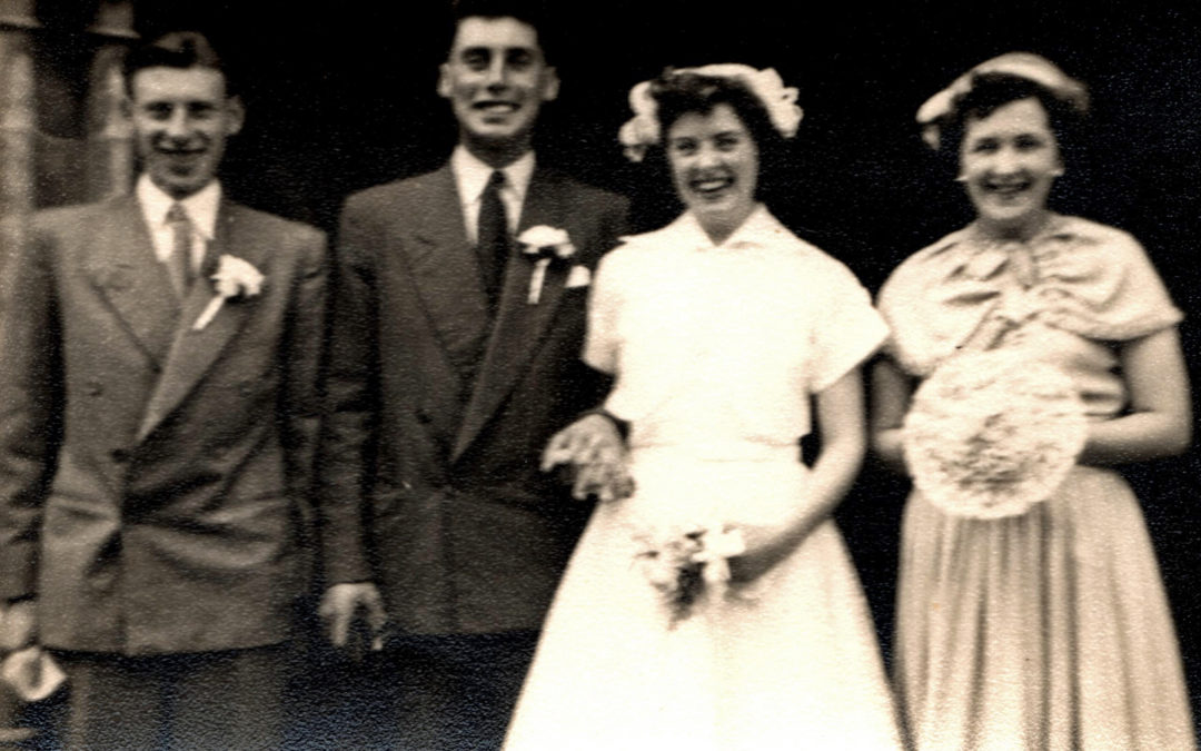 Wedding of Noel & Joyce Hampshire – Escrick 1953