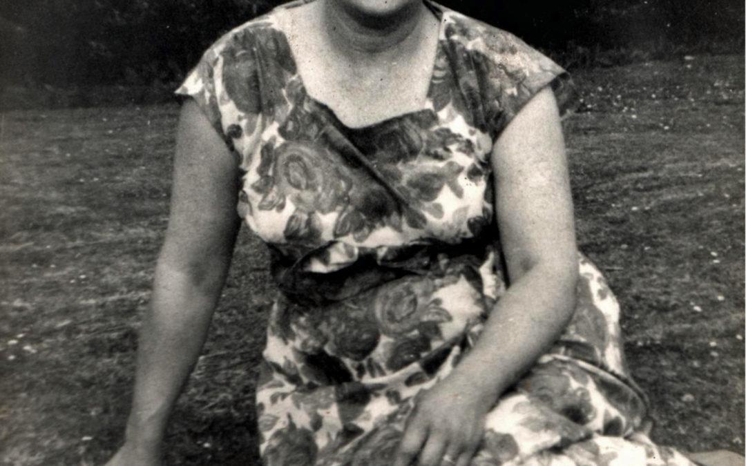 Marjorie Bellerby in Escrick Park – 1960