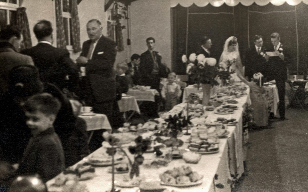 Georgina & John's Wedding Reception at Escrick Village Hall – 1960