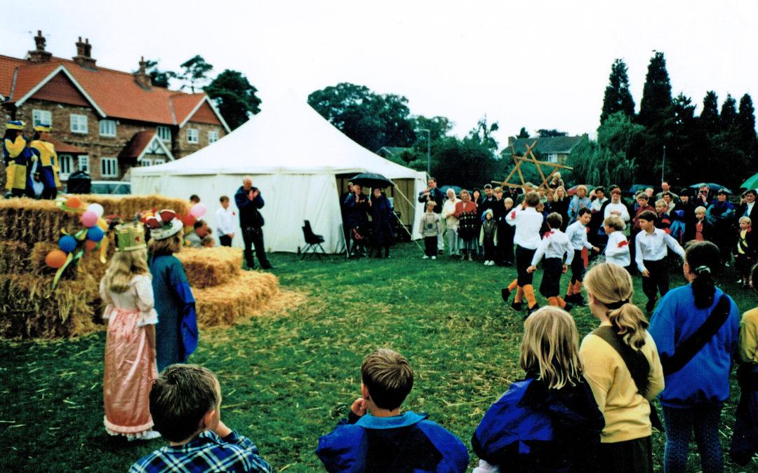 Escrick Sword Dance – Opening of Village Green
