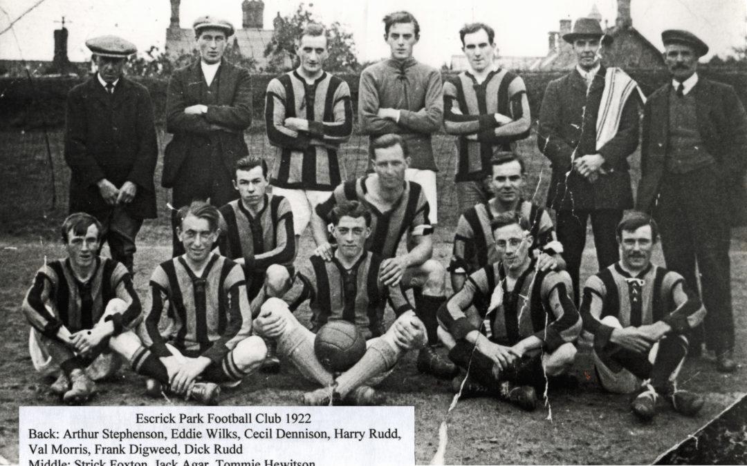 Escrick Park Football Club – 1922