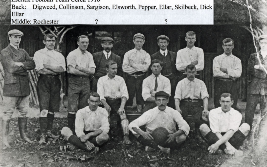 Escrick Park Football Club – 1910