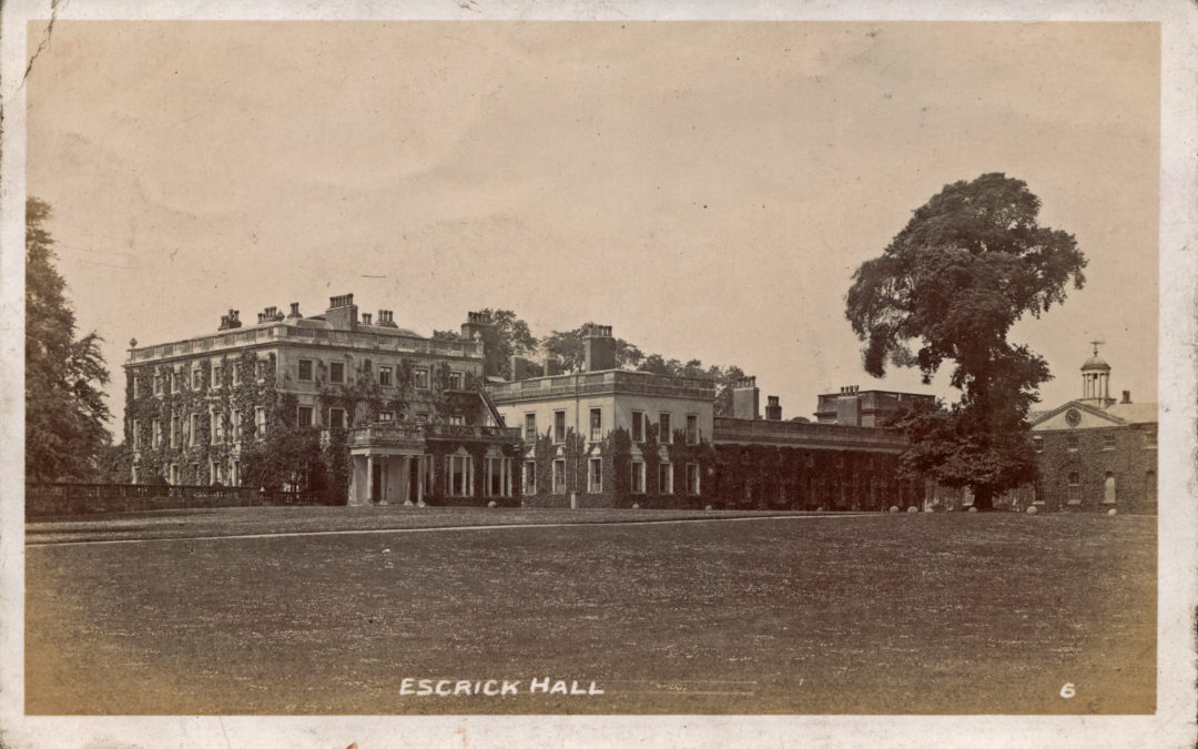 Escrick Hall – Features Stable Block and Clock Tower