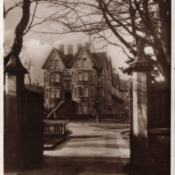 Postcard of Garry House, Queen Margarets School - When school located in Scarborough