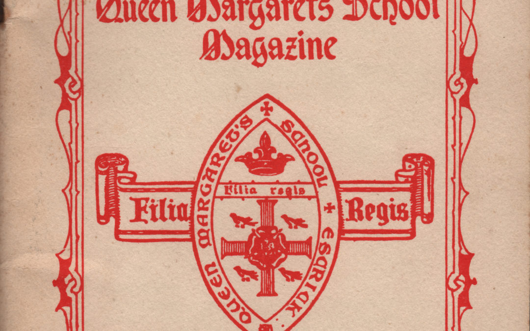 Queen Margaret's School Magazine – 1955 Number 81