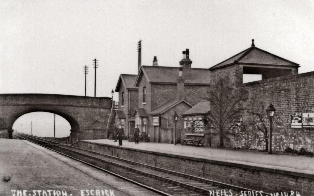 Escrick Railway Station