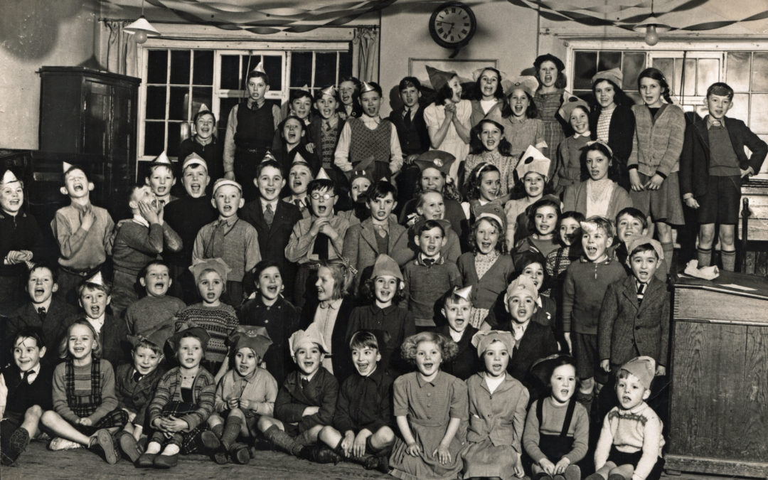Escrick School Party – c1948