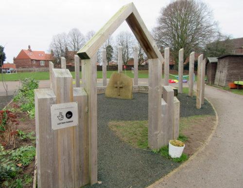 Garden of Christian Reflexion in Escrick School yard