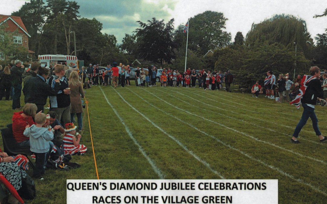 Games on the Village Green – 2012 Queens Diamond Jubilee Celebrations