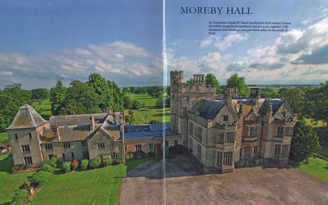 Sales particulars of Moreby Hall, York – Guide price £2,800,000