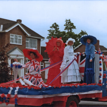 1997 Silver Jubilee celebrations - Escrick