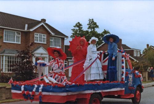 1997 Silver Jubilee celebrations - Escrick